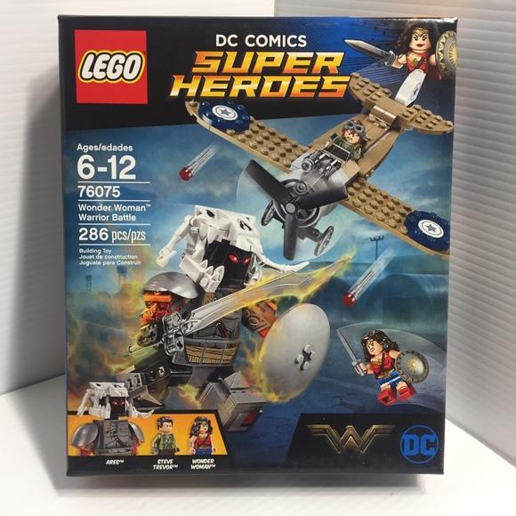 Wonder Woman Warrior Battle New LEGO 76075